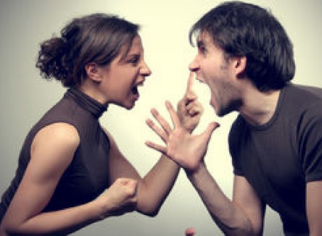 When 2 people are arguing, their blood pressure might be something to take under consideration.