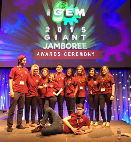 Success for Edinburgh's 2015 iGEM Team