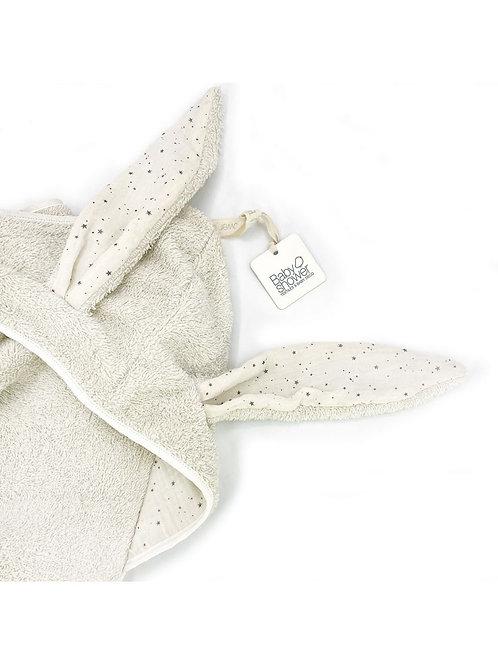 Cape de bain bunny vanilla sky Babyshower / Liste hernalsteens - Duveau