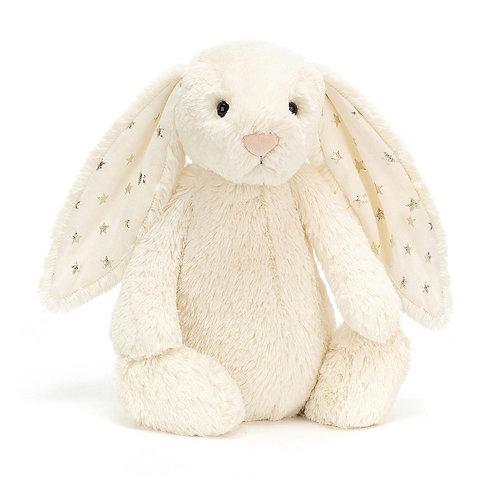 Lapin Blanc étoiles - Jelycat 31 cm