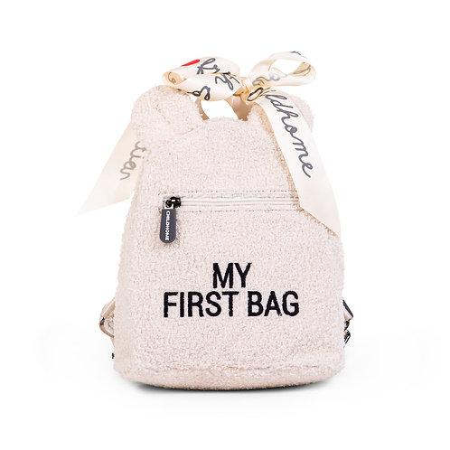 MY FIRST BAG SAC A DOS POUR ENFANTS - TEDDY ECRU