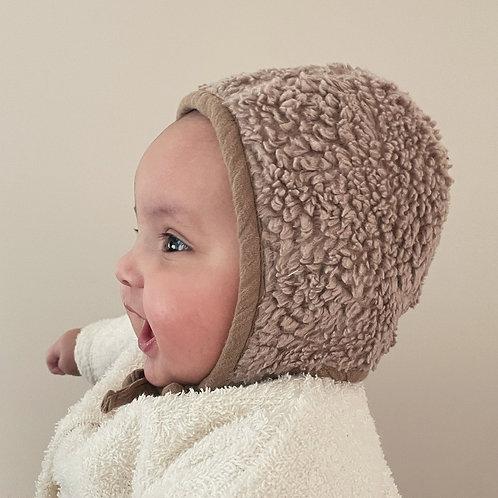 Bonnet Teddy - Taupe - 0-6 mois - Ilmaha / Liste Ledoux - Sneessens
