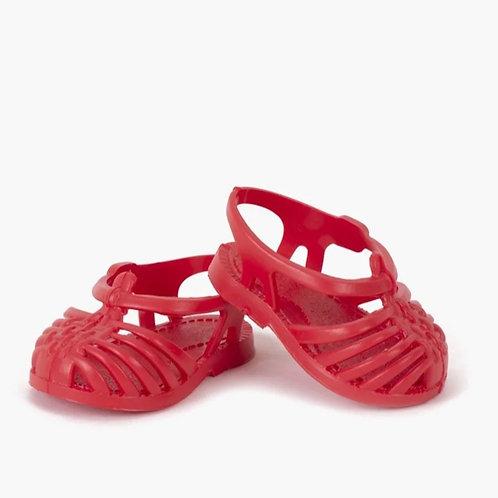 Minikane - sandales de plage sun rouge