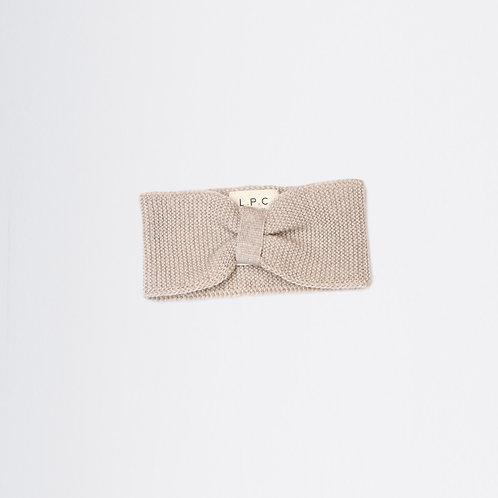 Bandeau en laine mérinos BAMBY Crème - LPC