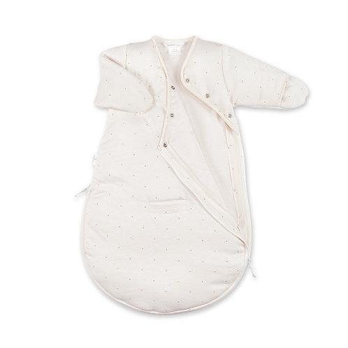 MAGIC BAG 0-3m motif petit pois ecru pady jersey + jersey tog 3