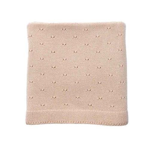 HVID - Couverture en laine Bibi Abricot