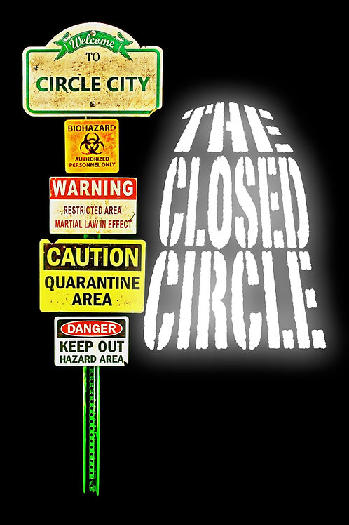 The Closed Circle (autographed comic book)