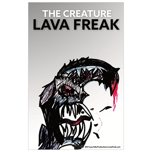 the creature (poster)