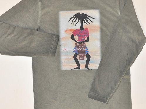 Long-sleeve T-shirt - Safari