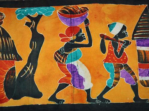 Batik Senegal - 58x86 cm.