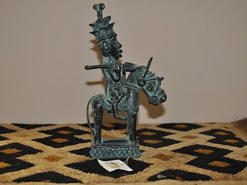 Bronze Knight (Crown) - Ife Ethnic Group - Nigeria