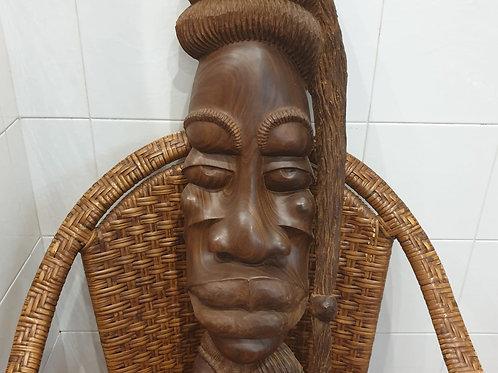 Wall Hanging Masai Wooden Mask