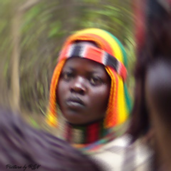 traditional african woman