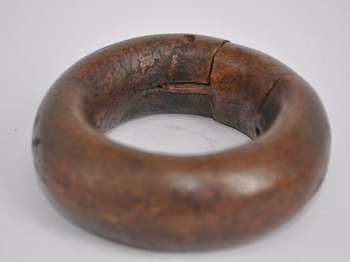 Old Tuareg Fulani Slave Bracelet in Bronze - Mali