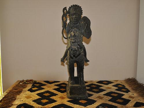 Bronze Knight - Ife Ethnic Group - Benin City - Nigeria