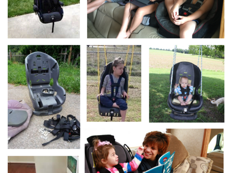 Is our car seat waste problem the solution to affordable adaptive seating?