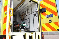 Ambulance-box-body-interior