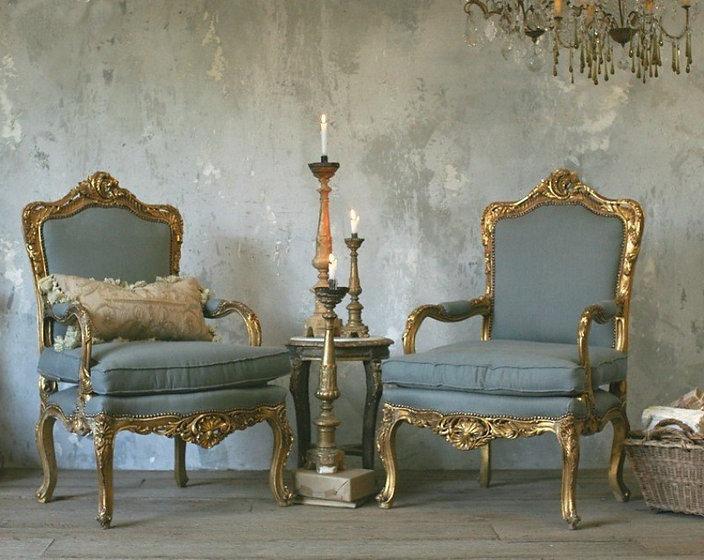 Антикварная мебель в стиле Людовика (11с