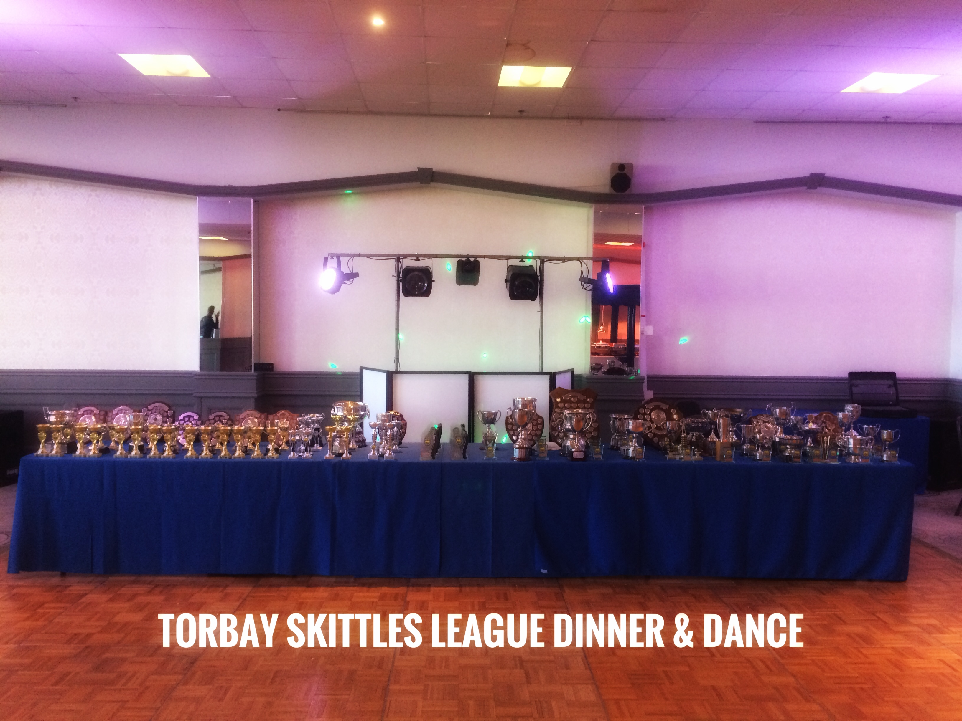 Torbay Skittles league presentation