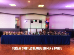 Torbay Skittles league presentation