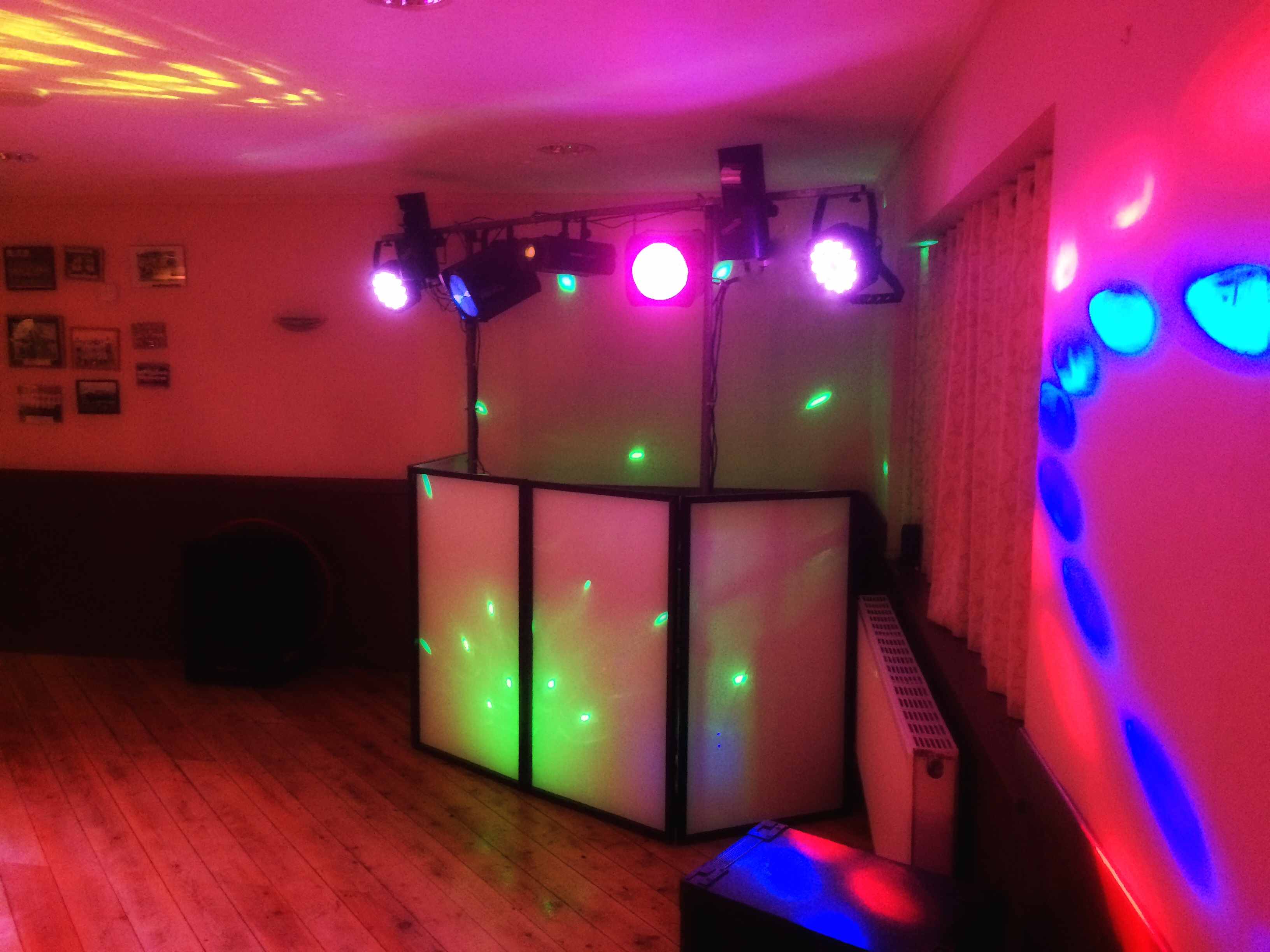 Mobile Disco Setup