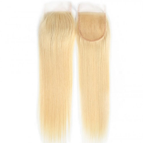 613 blonde  Straight Lace Closure