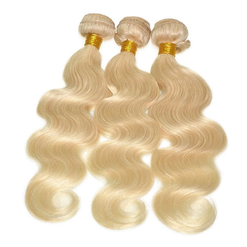 613 blonde Body Wave 3 Bundle Deal