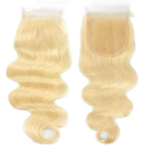 613 blonde  Body Wave Lace Closure