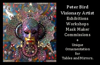 Peter Bird - Visionary Artist Cyprus