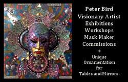 Peter Bird - Visionary Artist Cyprus