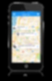 מפת הבקשות באפליקציית סנג׳ר