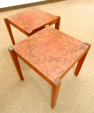 Untitled Trapezoid Tables (Pair)