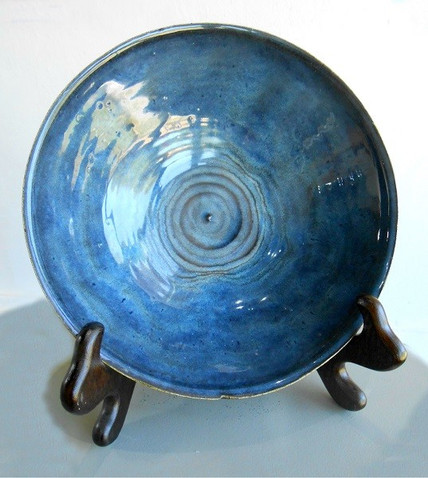 Blue Rutile Bowl