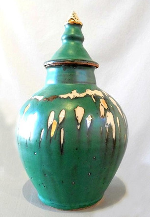 Vase with Domed Lid