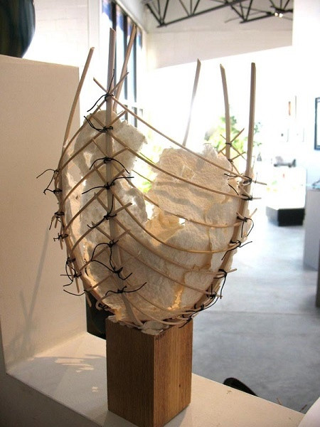 Tall Paper Basket
