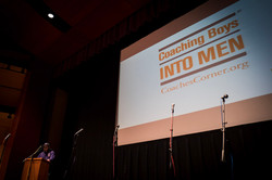 Carlos Enriquez presenting on CBIM
