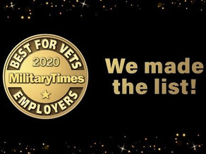 """BeneLynk Named a """"Best for Vets"""" Employer by Military Times"""