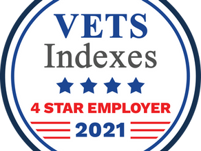 BeneLynk recognized as a VETS Indexes 4 Star Employer