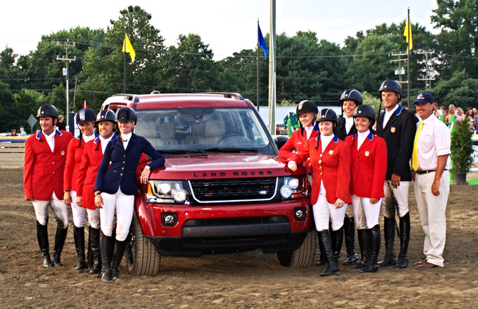 U.S. Eventing Team To Be Named by the 2015 Land Rover GMI