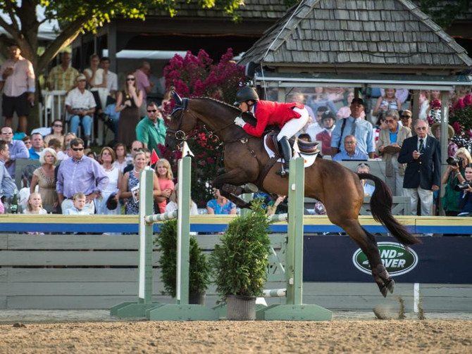 PRESS RELEASE: Nation's Top Riders Set to Ride in Land Rover Great Meadow International Presente