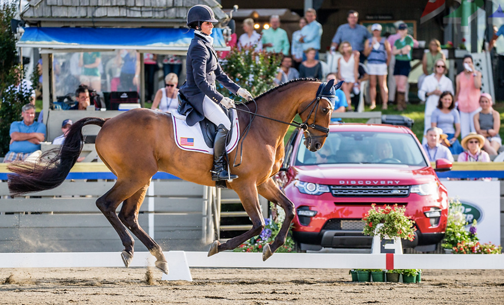 Pictured: Jennie Brannigan and Nina Gardner's Cambalda, winners of the 2015 Land Rover Great Meadow International CIC*** division last June.  Photo provided by Jordan Koepke Photography