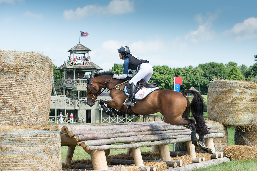 Jennie Brannigan and Cambalda, winners of the inaugural Land Rover Great Meadow International presented by Adequan® CIC*** in June 2015.