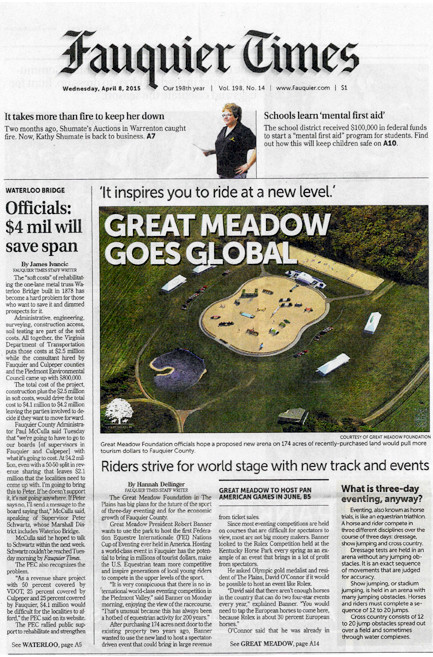 #LandRoverGMI on the Front Page!