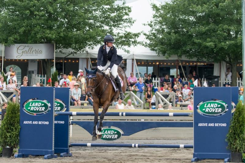 Lauren Kieffer and Meadowbrooks Scarlett winners of last year's Pan Am Prep Trial at Great Meadow  (c) 22Gates.com