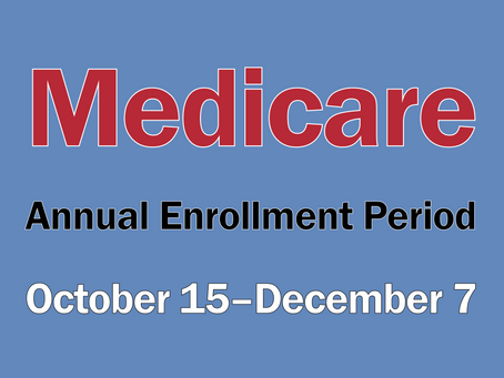 Time to check your Medicare plans...