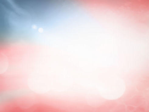 Patriotic day concept: Blurred red, blue