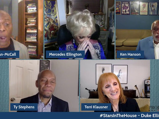 #311 Sophisticated Ladies Reunion!  Duke Ellington: The Music That Defined A Century with Mercedes Ellington, Judith Jamison, Teri Klausner, Ty Stephens and guest hosts Erich McMillian-McCall and Kenneth Hanson  