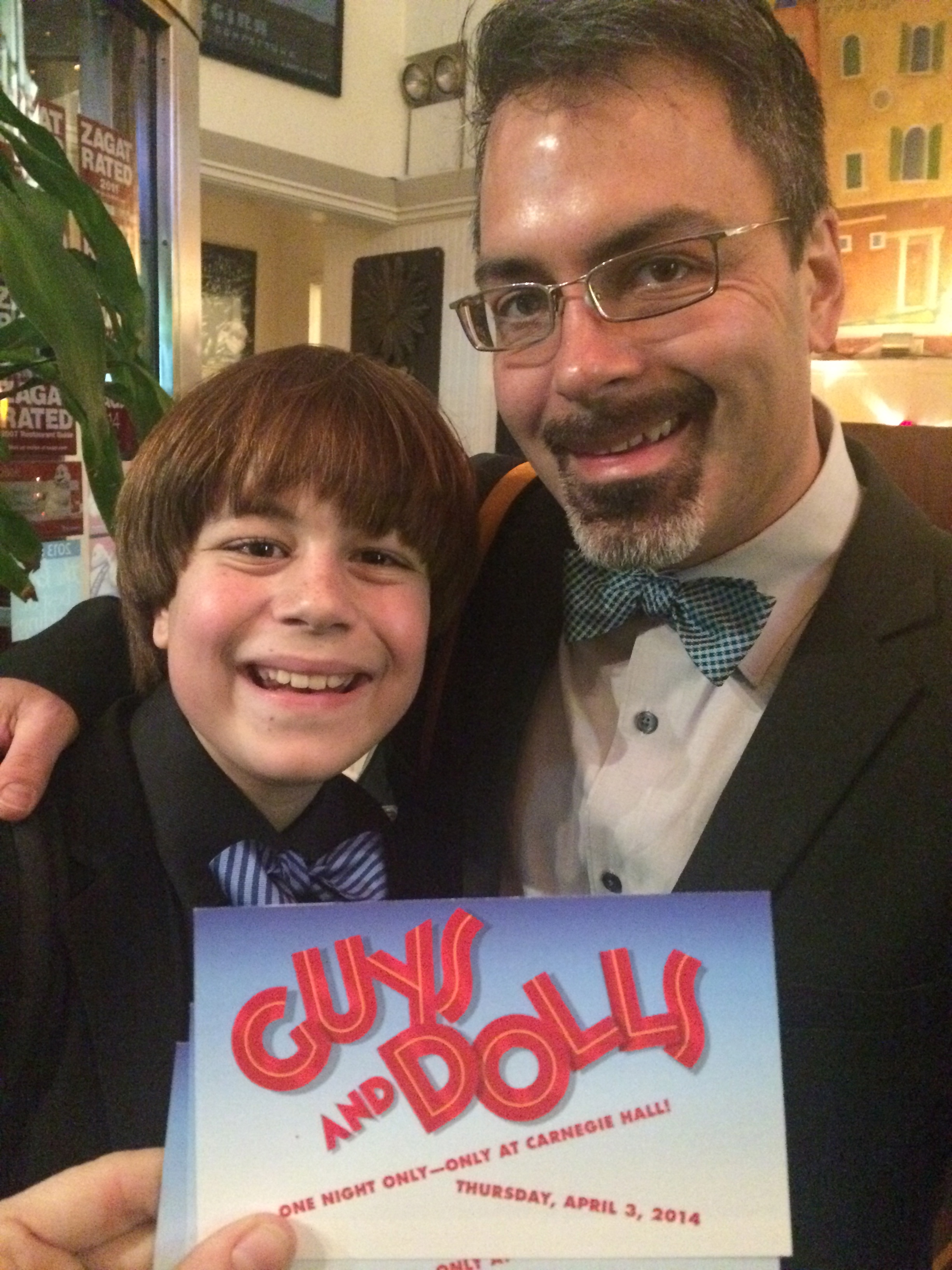 Carnegie Hall's GUYS AND DOLLS