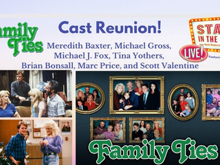 #237 Family Ties Cast Reunion with Meredith Baxter, Michael Gross, Michael J. Fox, Tina Yothers, Marc Price, Scott Valentine and Brian Bonsall