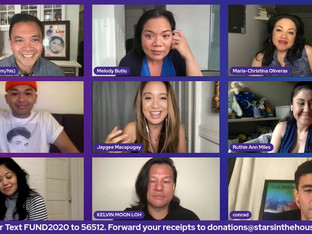 #360 HERE LIES LOVE with guest host Jose Llana along with Ruthie Ann Miles, Conrad Ricamora, Melody Butiu, Jeigh Madjus, Maria-Christina Oliveras, Kelvin Moon Loh, Jaygee Macapugay and Renee Albulario.  